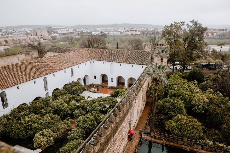 Cordoba- Alcazar, panorama of the city