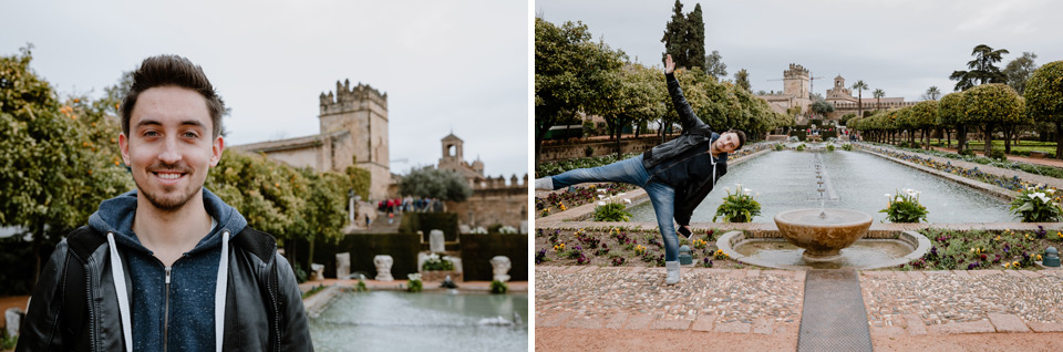 Cordoba- Alcazar, gardens