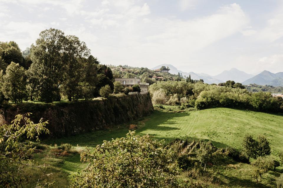 Bergamo, park Sant Agostino
