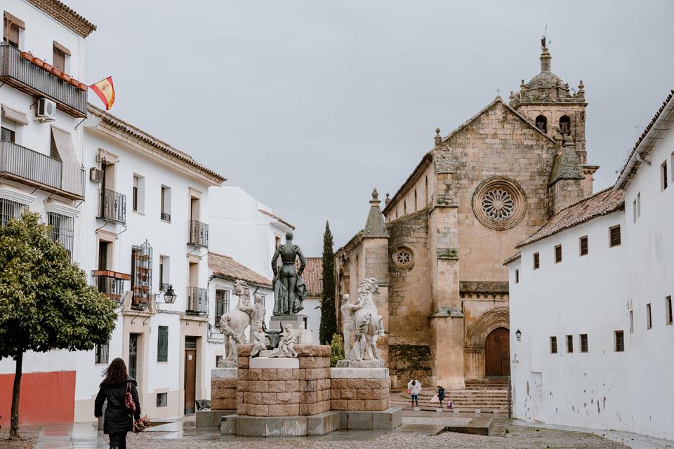 Cordoba, church of Santa Marina de Aguas Santas