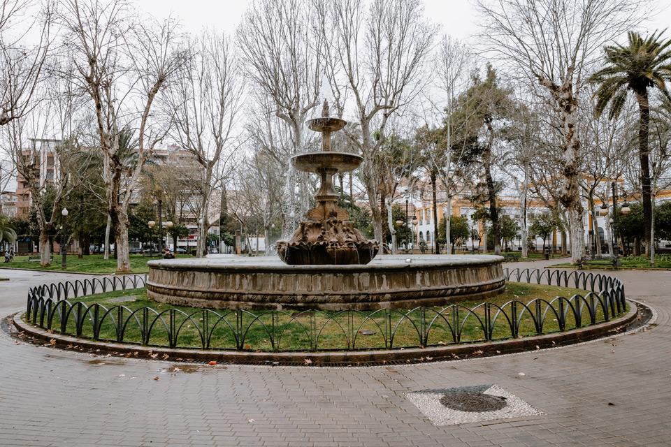 Cordoba, Jardines de la Merced park