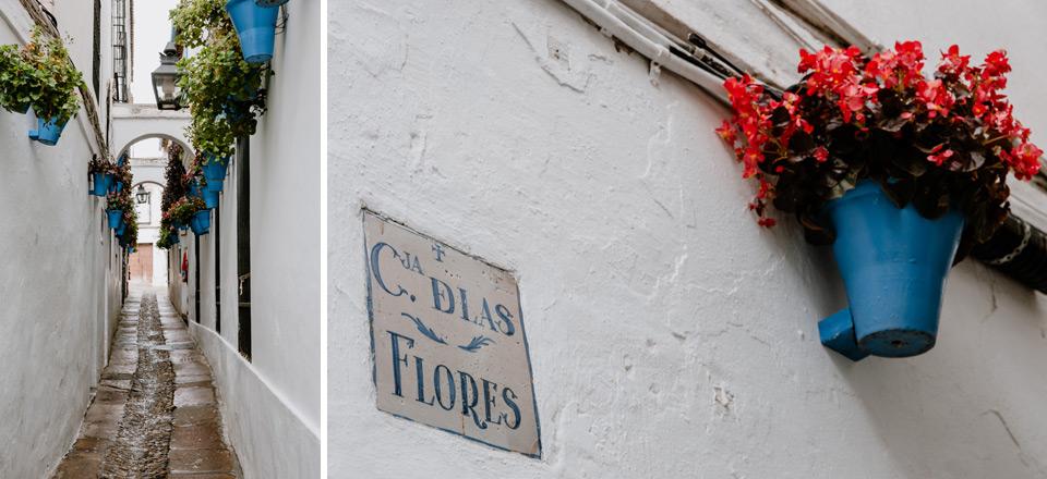 Cordoba, Calleja de las Flores