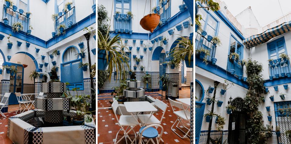 Cordoba, hostel patio