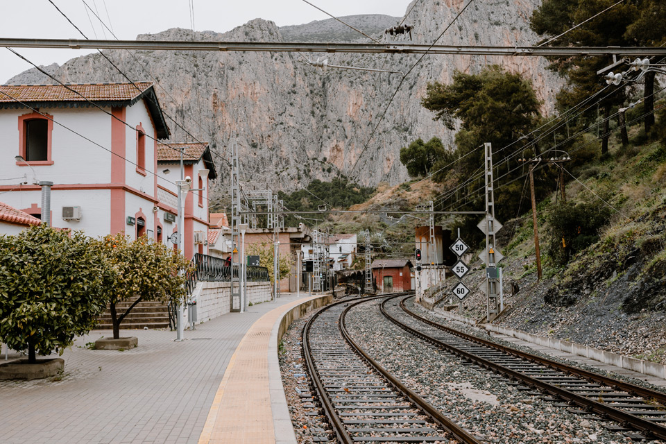 El Chorro- train station