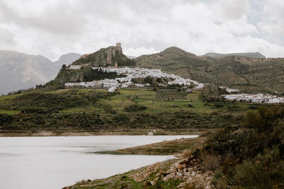 Pueblos Blancos- panorama of Zahara