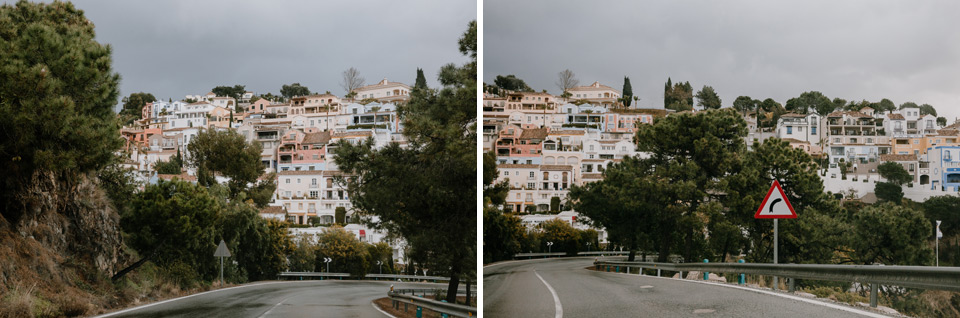 route to Gibraltar
