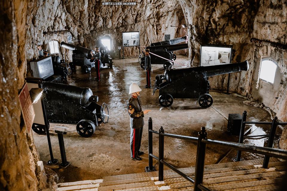 Gibraltar- Great Siege Tunnels