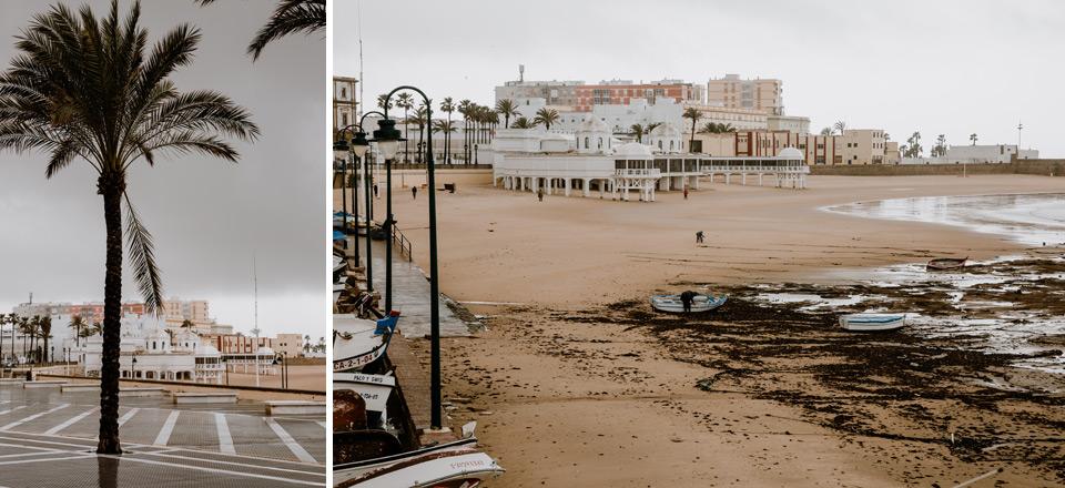 Cadiz- Playa de La Caleta