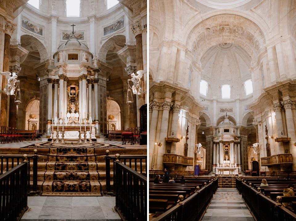 Cadiz Cathedral interior