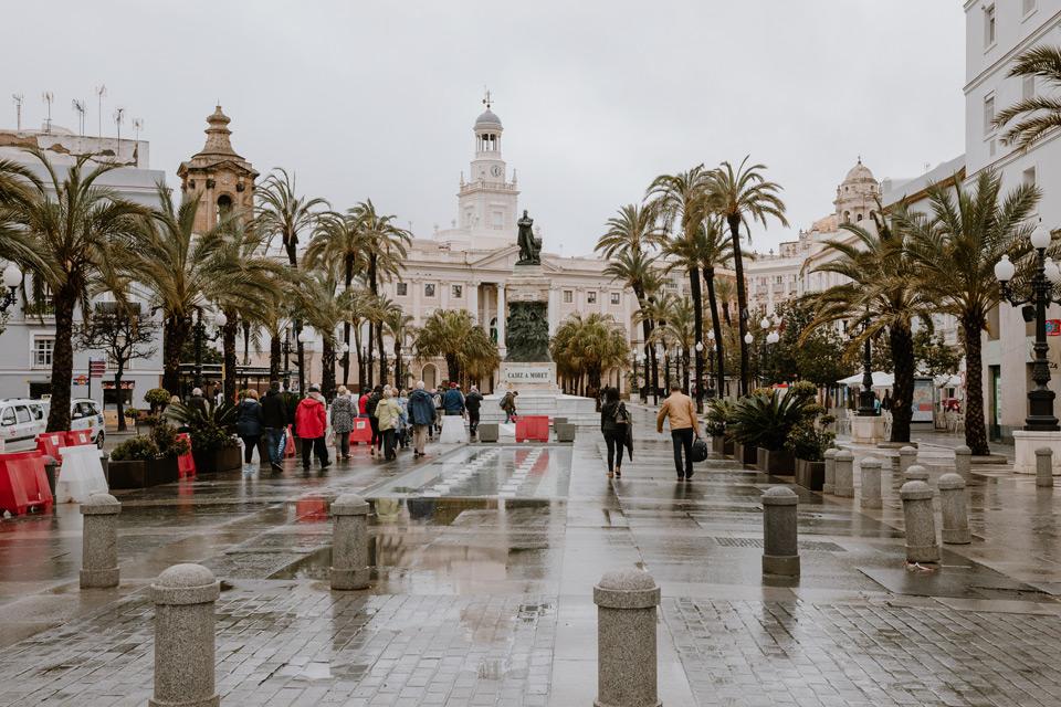 Cadiz- Plaza de San Juan de Dios