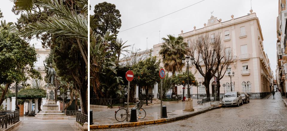 Cadiz- Plaza de Candelaria