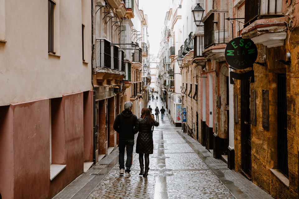 Cadiz - city streets