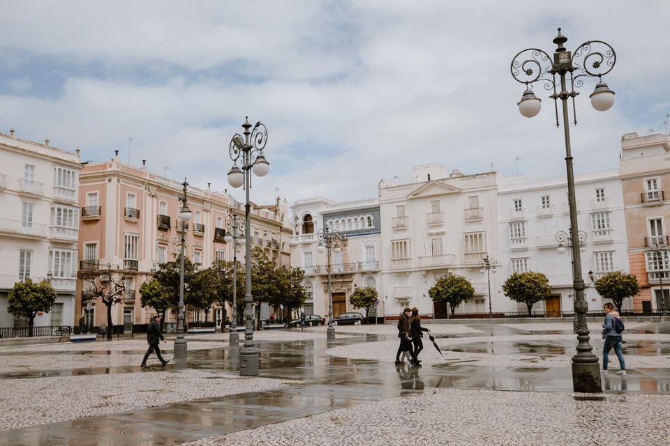 Cadiz- Plaza de San Antonio