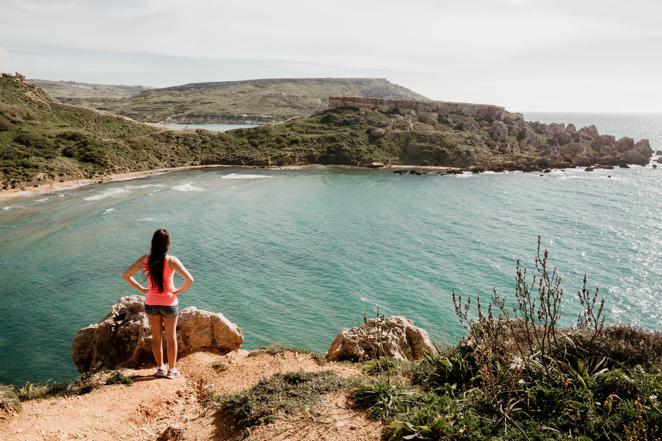 Malta, part 5- Popeye Village, Golden Bay, Ghajn Tuffieha Bay