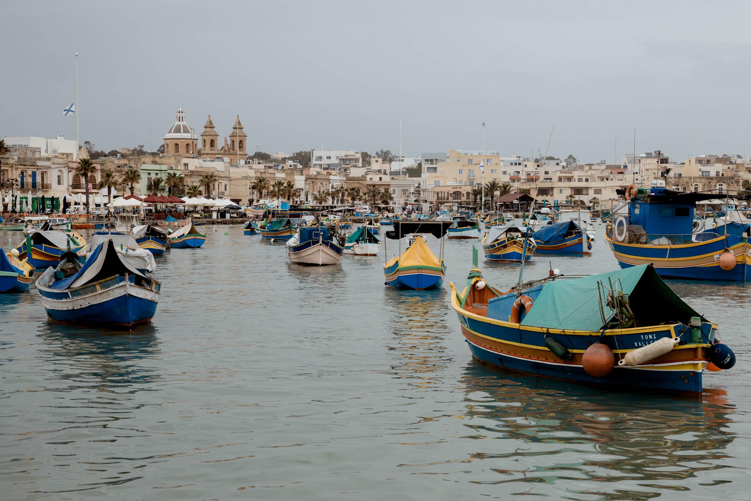 Malta, part 3- Blue Grotto, Marsaxlokk, St. Peter's Pool