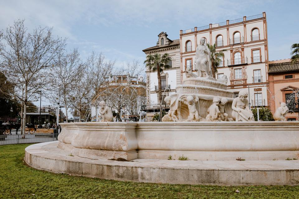 Seville, Híspalis Fountain