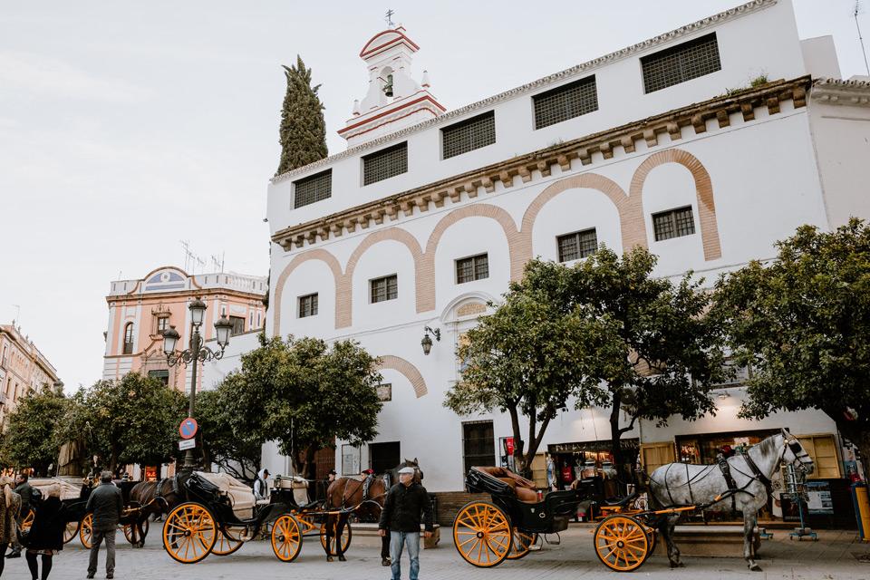Seville- Plaza del Triunfo
