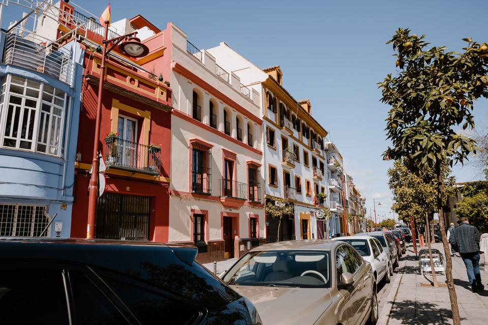Seville - a walk around the Triana district