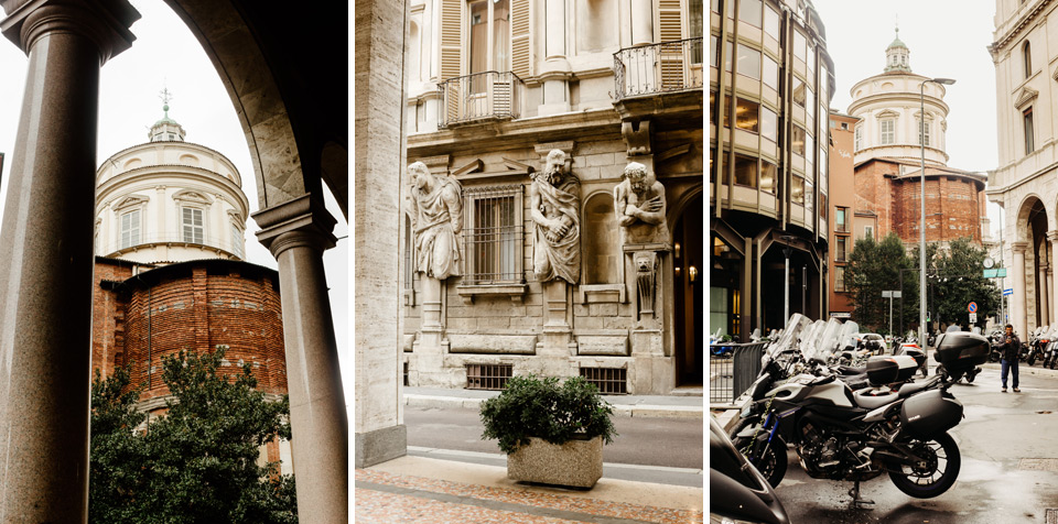 Milan, a walk around the city