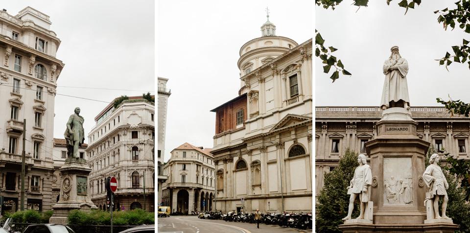 Milan, Piazza della Scarpa