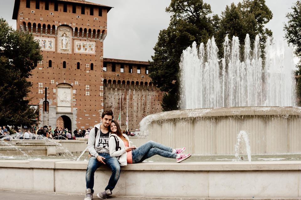 Milan, Castello Sforzesco