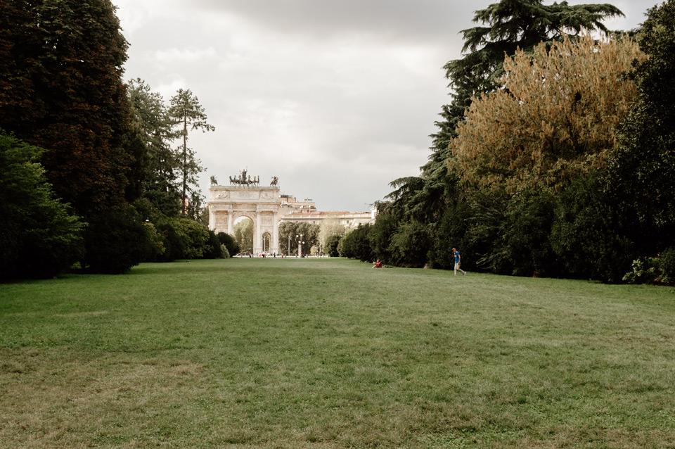 Milan, Sempione park