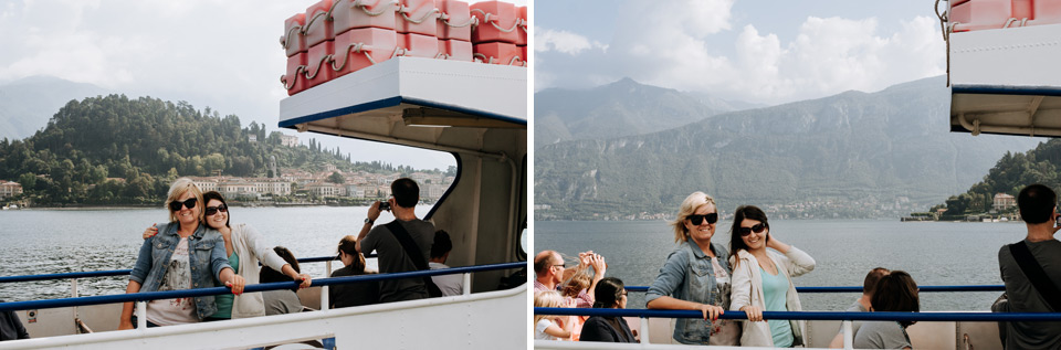 Lake Como, Varenna - ferry