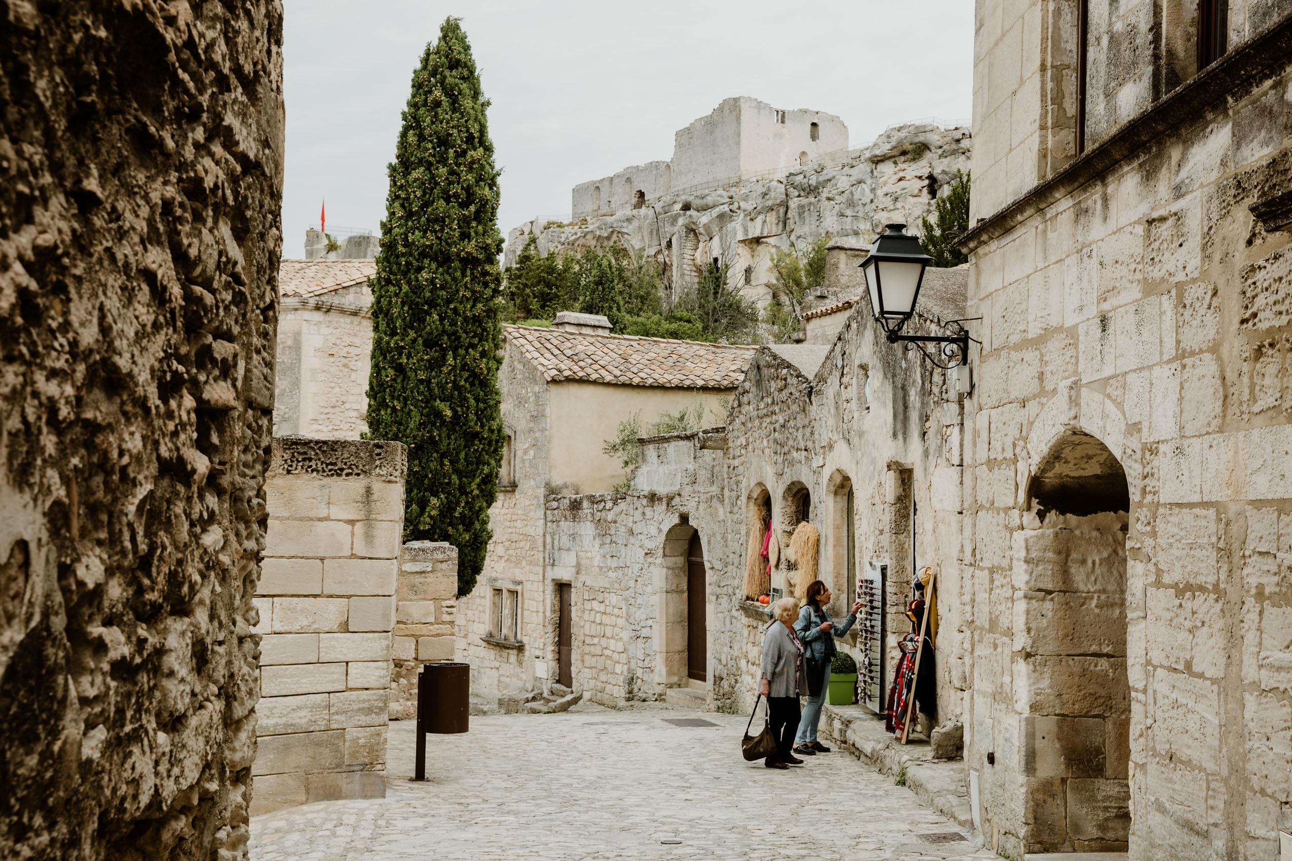 Prowansja we Francji, część 7- Saint-Rémy-de-Provence, Les Baux-de-Provence, Salon-de-Provence