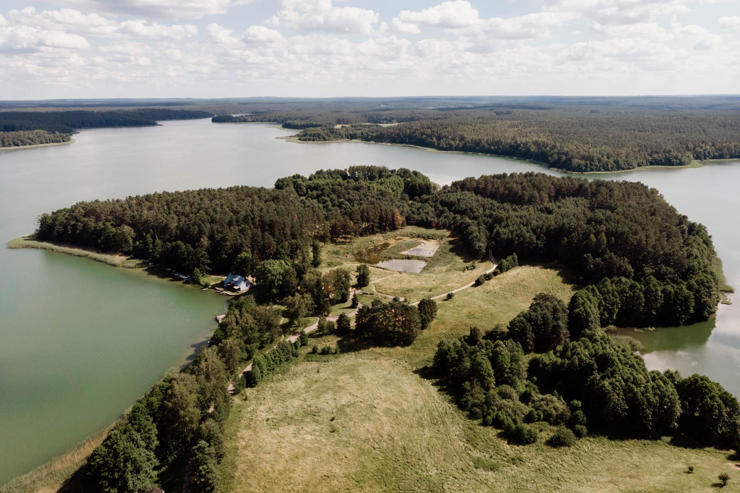 Okolice Olsztyna- Jezioro Pluszne i Łańskie
